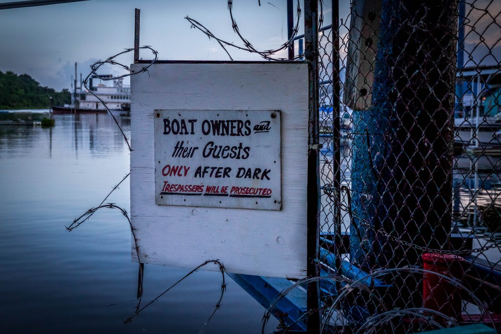 Duly Noted. South Docks, June 16, 2015.